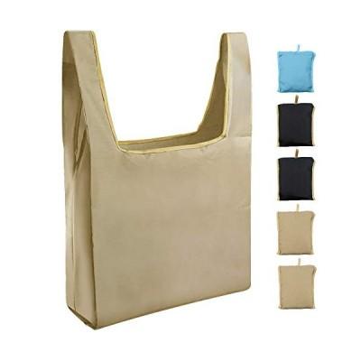 エコバッグ Senbos トートバッグ コンビニ 5個セット 折り畳み 大容量 防水 水洗い可 繰り返し使用
