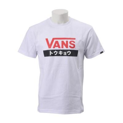 【VANS】 ヴァンズ VANS TOKYO TEE ショートスリーブ VA18SS-TKABC WHITE M ホワイト