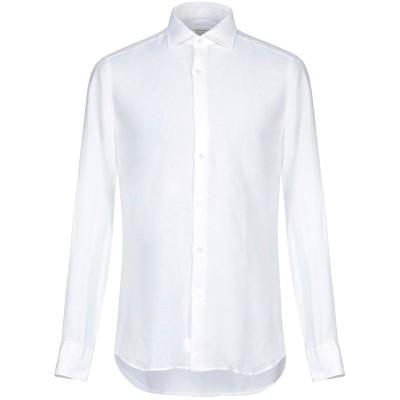 GUGLIELMINOTTI シャツ ホワイト 42 リネン 100% シャツ