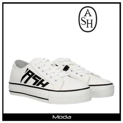 アッシュ スニーカー レディース 白 ホワイト ASH 靴 ローカット