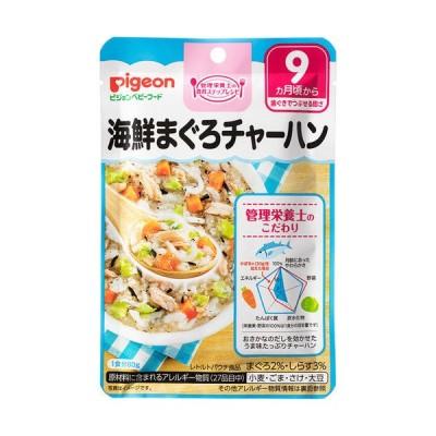ピジョン株式会社 ベビーフード 食育レシピ 海鮮まぐろチャーハン(80g) <管理栄養士の食育ステップレシピ>