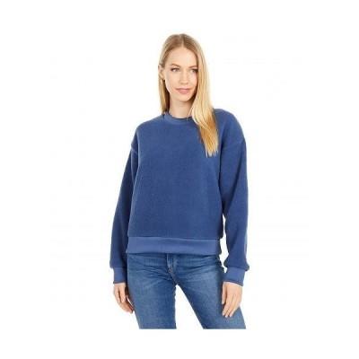 Levi's(R) Womens リーバイス レディース 女性用 ファッション パーカー スウェット Meadow Polar Fleece Crew - Blue Indigo