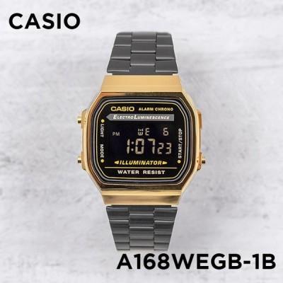10年保証 日本未発売 CASIO カシオ スタンダード A168WEGB-1B 腕時計 メンズ レディース キッズ 子供 男の子 女の子 チープカシ