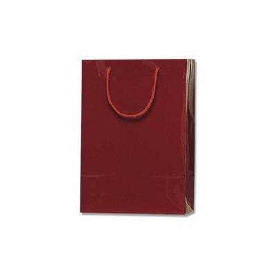 手提げ紙袋(PPフィルム貼り) HEIKO エンジ