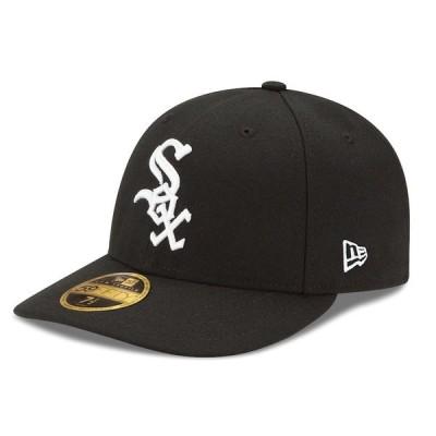 ニューエラ メンズ 帽子 アクセサリー Chicago White Sox New Era Authentic Collection On Field Low Profile Game 59FIFTY Fitted Hat