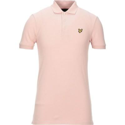 ライル アンド スコット LYLE & SCOTT メンズ ポロシャツ トップス Polo Shirt Blush