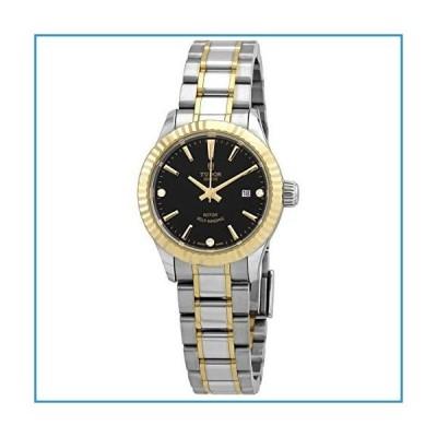新品Tudor Style Automatic Diamond Black Dial Ladies 28 mm Watch m12113-0011【並行輸入品】