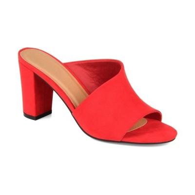 ジャーニーコレクション パンプス シューズ レディース Women's Allea Mules Red