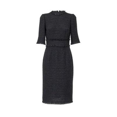 ドルチェ&ガッバーナ レディース ワンピース トップス Dolce & Gabbana Tweed Midi Sheath Dress -