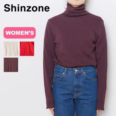 Shinzone シンゾーン ハイネックリブ