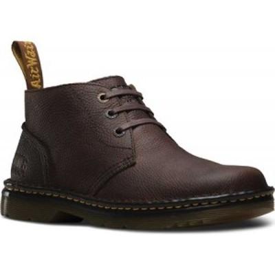 ドクターマーチン Dr. Martens Work メンズ ブーツ チャッカブーツ シューズ・靴 Sussex 3 Eye Chukka Dark Brown Bear Track