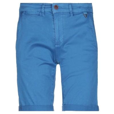 OUTFIT バミューダパンツ ブルー 42 コットン 98% / ポリウレタン 2% バミューダパンツ