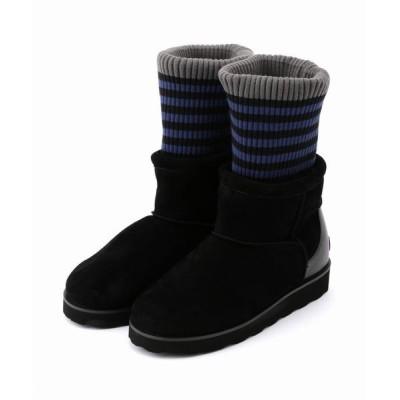 FRAPBOIS/フラボア ソックスブーツ ブラック 1