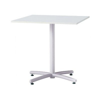 井上金庫 UTS-W750K テーブル ミーティングテーブル 会議用テーブル W750*D750*H700MM 750角天板  3色から選べる