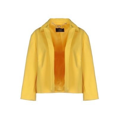 CLIPS テーラードジャケット イエロー 42 コットン 51% / ナイロン 42% / ポリウレタン 7% テーラードジャケット