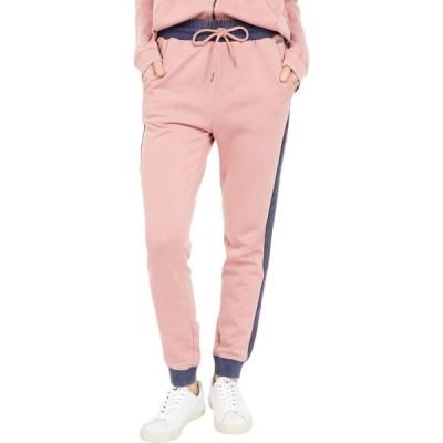 ロキシー Roxy レディース スウェット・ジャージ ボトムス・パンツ Catch Night Color-Block Sweatpants Ash Rose