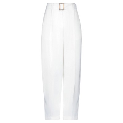PT Torino パンツ ホワイト 40 レーヨン 100% パンツ
