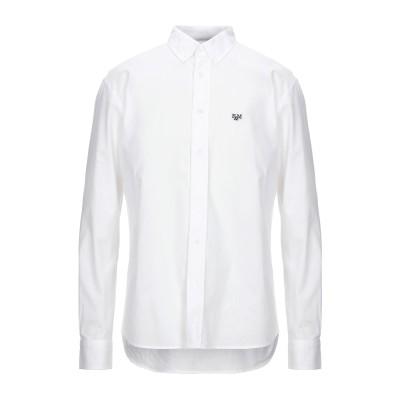 フランクリン & マーシャル FRANKLIN & MARSHALL シャツ ホワイト L コットン 100% シャツ