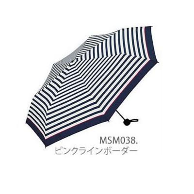 (BACKYARD/バックヤード)ワールドパーティー W.P.C #MSM MEN umbrella MINI 紳士用折リタタミ傘/メンズ ピンク