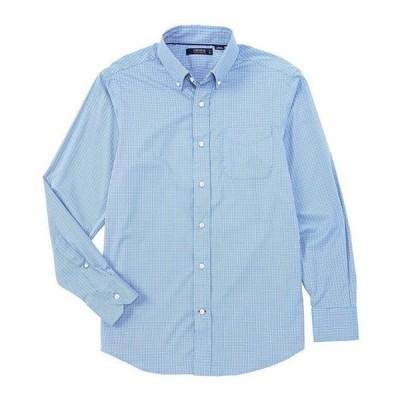 ダニエル クレミュ メンズ シャツ トップス Performance Plaid Twill Long-Sleeve Woven Shirt