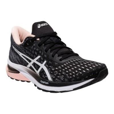 アシックス レディース スニーカー シューズ Women's ASICS GEL-Cumulus 22 Running Sneaker Black/White (MK)