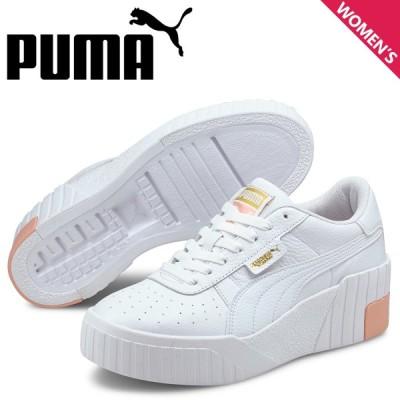 プーマ PUMA カリ スニーカー レディース 厚底 CALI WEDGE ホワイト 白 373438-04