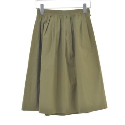 BALLSEY / ボールジー コットンポリエステルブロードギャザー スカート