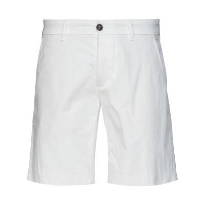 FORTELA ショートパンツ ホワイト 29 コットン 65% / ナイロン 35% ショートパンツ