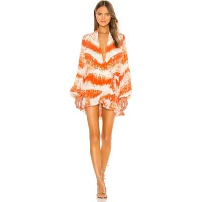 ロココ ROCOCO SAND レディース ワンピース ワンピース・ドレス Ilios Dress Orange