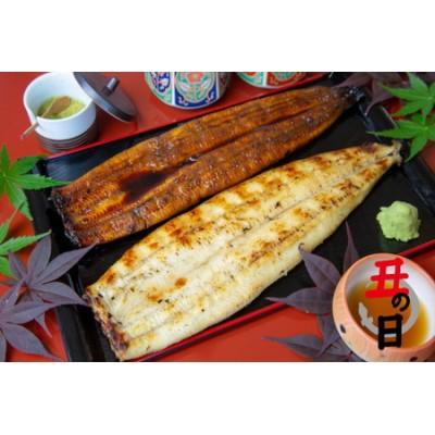 【鹿児島県産 鰻】うなぎ専門店「万のせ」うなぎ蒲焼・白焼きセット(手焼き)