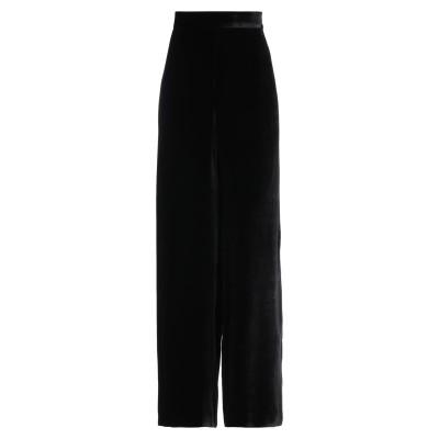 CLIPS パンツ ブラック 48 レーヨン 82% / シルク 18% パンツ