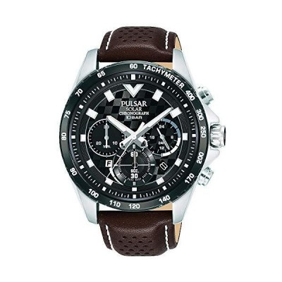 【セット商品】[パルサー] セイコー SEIKO パルサー PULSAR ソーラークロノグラフ腕時計 PZ5109X1 &マイクロファイバー