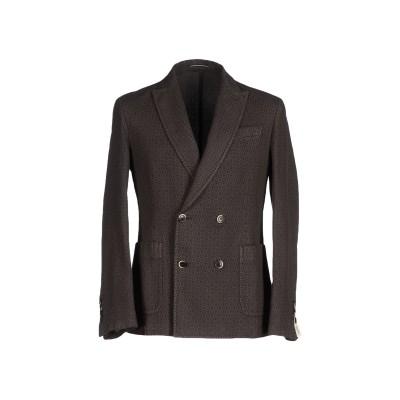ローダ RODA テーラードジャケット 鉛色 50 コットン 58% / ラミー 42% テーラードジャケット