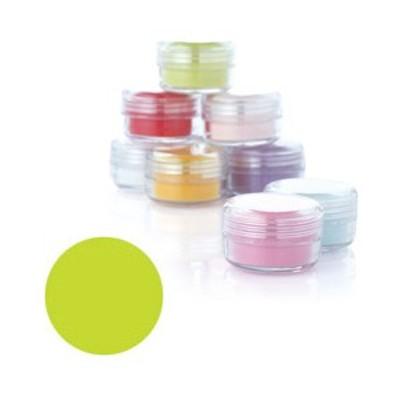 Fleurir カラーパウダー LG-M ライトグリーン 4g【3Dアート・アクリリックスカルプチュア関連ネイル用品】