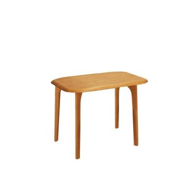 天然木のシンプルダイニングテーブル<2人用/4人用/6人用>
