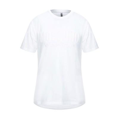 モスキーノ MOSCHINO アンダーTシャツ ホワイト XS コットン 92% / ポリウレタン 8% アンダーTシャツ