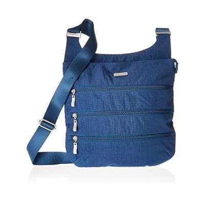 バッガリーニ アメリカ 日本未発売 LZP474PI Baggallini Big Zipper Travel Crossbody Bag, Pacific,