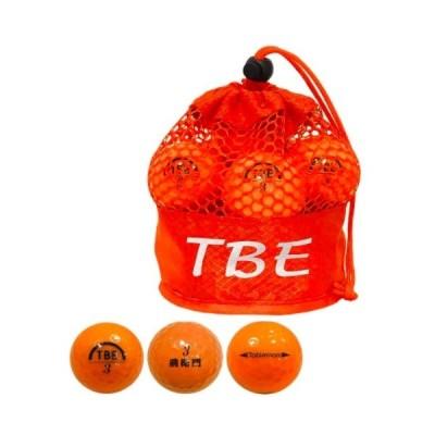 トビエモン(TOBIEMON)飛衛門 ゴルフボール パール メッシュバッグ入り R&A公認球 1ダース(12球入り) パールオレンジ T-2PO【新品】