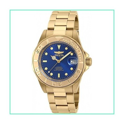 Invicta Men's Pro Diver Automatic-self-Wind Watch with Stainless-Steel Strap, Gold, 20 (Model: 90186)並行輸入品
