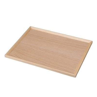 木製 トレー かわいい おしゃれ |天然素材 木目 トレー36cm | 木のトレー NA36
