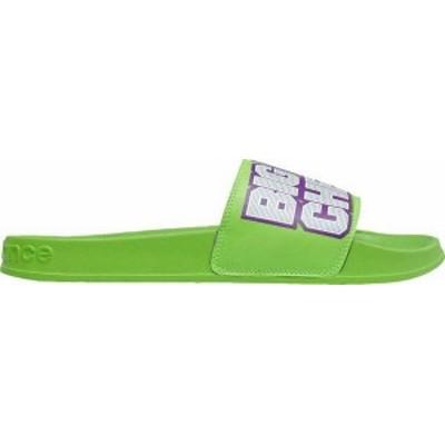 ニューバランス メンズ サンダル シューズ New Balance Men's Big League Chew Slides Green/Purple