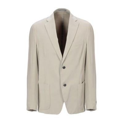 NINO DANIELI テーラードジャケット ベージュ 50 コットン 98% / ポリウレタン 2% テーラードジャケット