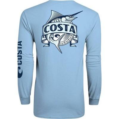 コスタデルマール メンズ シャツ トップス Costa Del Mar Men's Broadside Long Sleeve T-Shirt