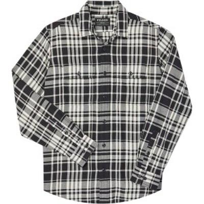 フィルソン メンズ シャツ トップス Scout Shirt Black/Cream