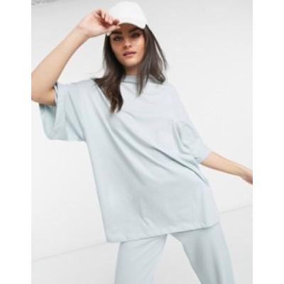 エイソス レディース シャツ トップス ASOS 4505 oversized t shirt in print Sage