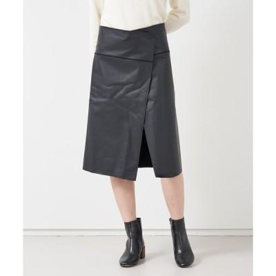 スカート ALWEL ラップスカート