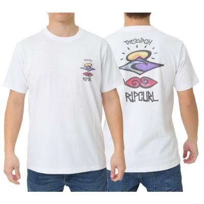 リップカールRIPCURL SEARCHE MDS S/S TEE プリントTシャツ(S01-209)WHT/リップカールウエットスーツ