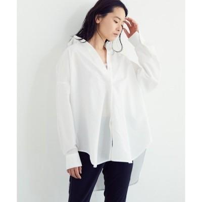 シャツ ブラウス 【吸水速乾】オーバーサイズシャツ