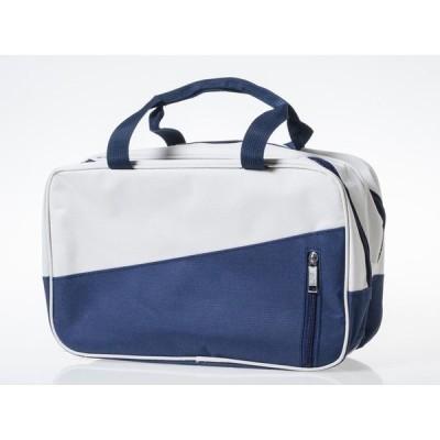 アウトドア スポーツ 旅行 ハンドバッグ ボストンバッグ 男女兼用 防水ポケットあり#ローズ×青