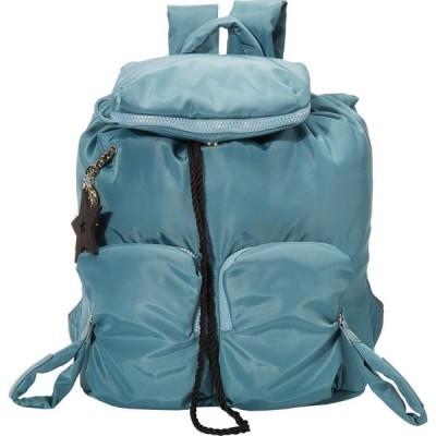 クロエ See by Chloe レディース バックパック・リュック バッグ Nylon Joyrider Backpack Mineral Blue